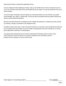 Counseling Intake Form Editable PDF 210241024_12