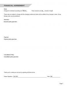Counseling Intake Form Editable PDF 210241024_5