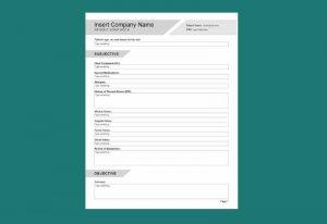 SOAP Note Comprehensive Editable PDF